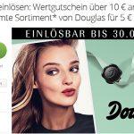 Groupon: 10 Euro Gutschein für Douglas Filialen