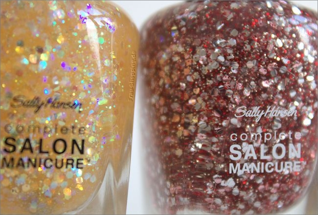 Sally Hansen Designer Kollektion Herbst/Winter 2014 - 701 Pink Dream und 704 Chili Flakes