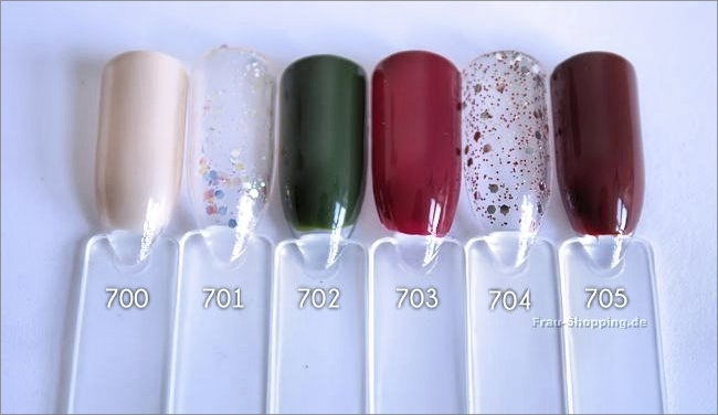 Sally Hansen Designer Kollektion Herbst/Winter 2014 Swatches