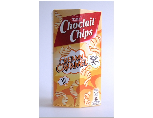 Choclait Chips Creamy Caramel