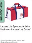 Gratis Geschenk von Lacoste