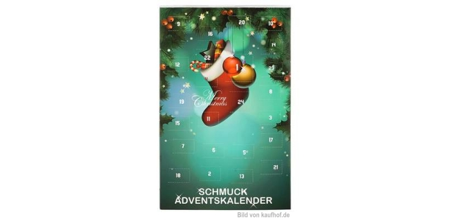Fabiani Schmuck Adventskalender 2014