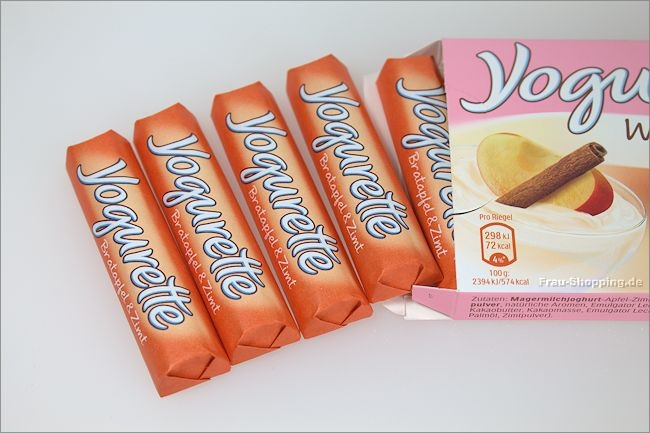 Yogurette Wintertraum Bratapfel & Zimt
