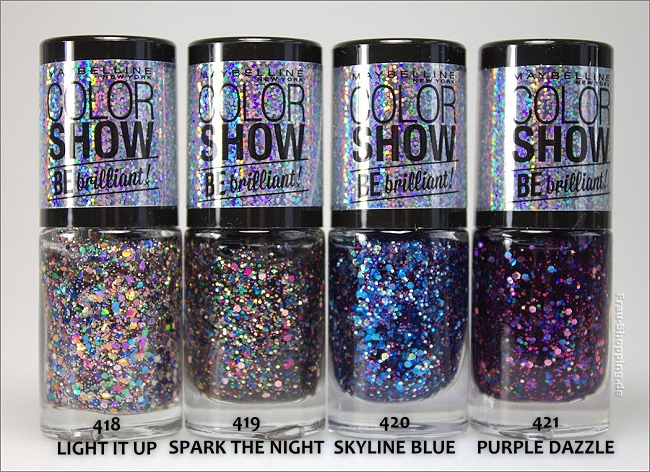 Maybelline Color Show Nagellacke - Be brilliant Limited Edition