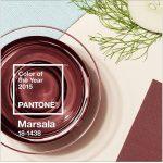 Pantone Farbe des Jahres 2015 – Marsala
