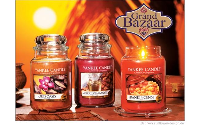 Yankee Candle Frühling 2015 - Grand Bazaar Düfte