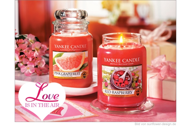 Yankee Candle Frühling 2015 - Love is in the Air Düfte