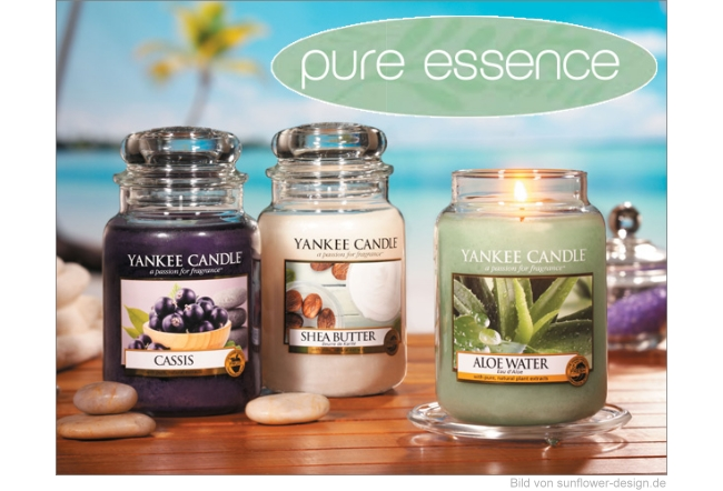 Yankee Candle Frühling 2015 - pure essence Düfte