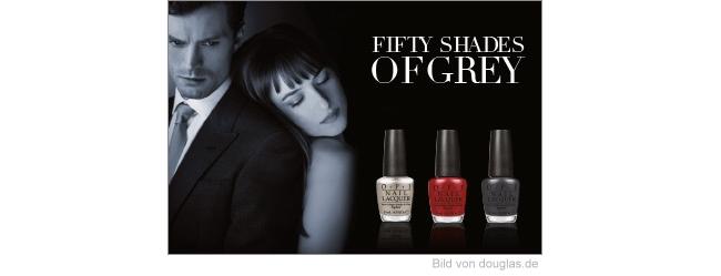 Neu bei douglas.de - OPI Fifty Shades of Grey