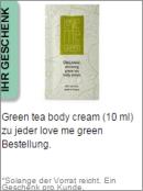 Gratis Geschenk von love me green