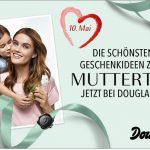 Zum Muttertag: Frau Shopping zahlt deine Douglas Rechnung