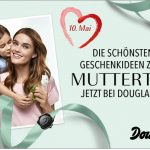 Zum Muttertag: Frau Shopping zahlt deine Douglas.de Rechnung