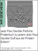 Gratis Geschenk von Gaultier
