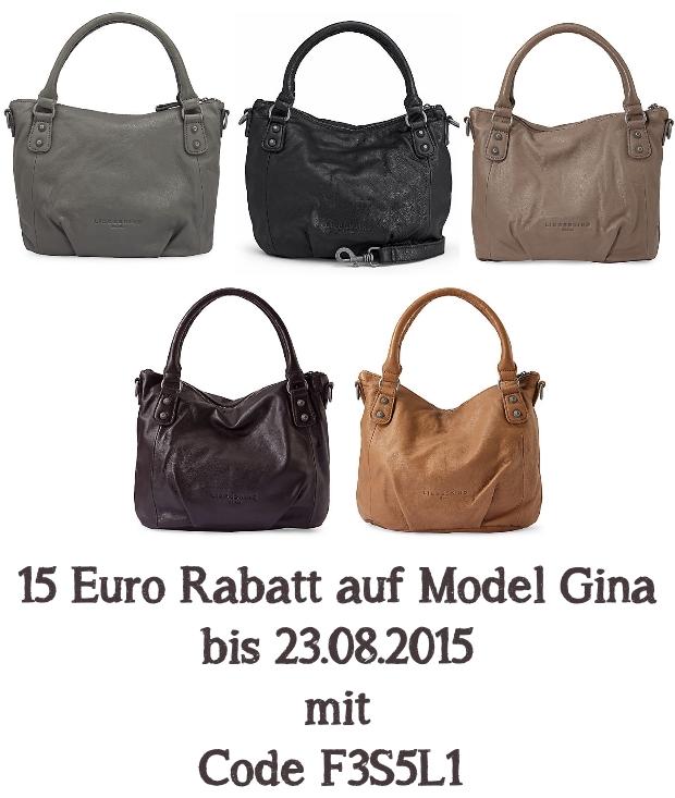 15 Euro Rabatt auf Liebeskind Gina