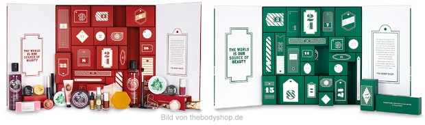 The Body Shop Adventskalender 2015