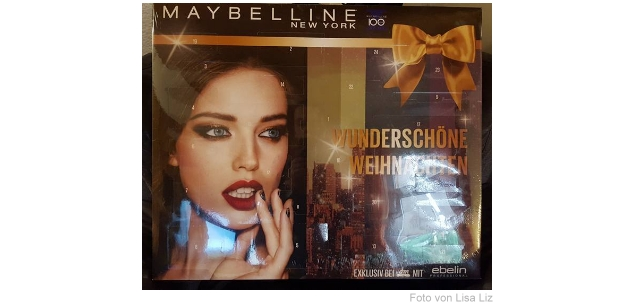 Maybelline ebelin Adventskalender 2015
