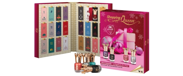 Shopping Queen Nagellack Adventskalender 2015