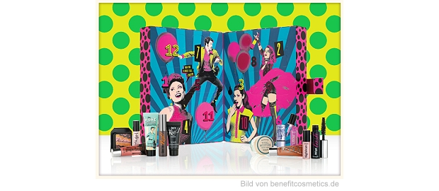 benefit Adventskalender 2015