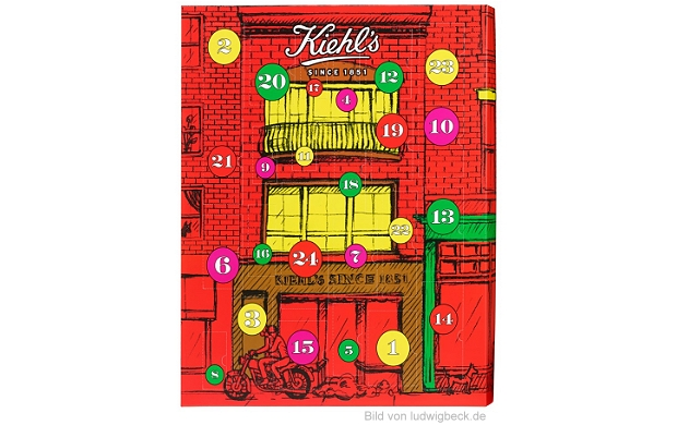 Kiehls Adventskalender 2015