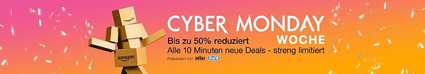 Cyber Monday Woche bei Amazon