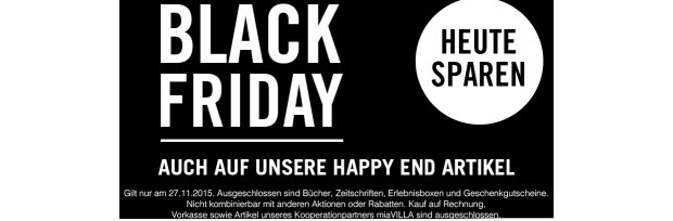 Black Friday bei Butlers