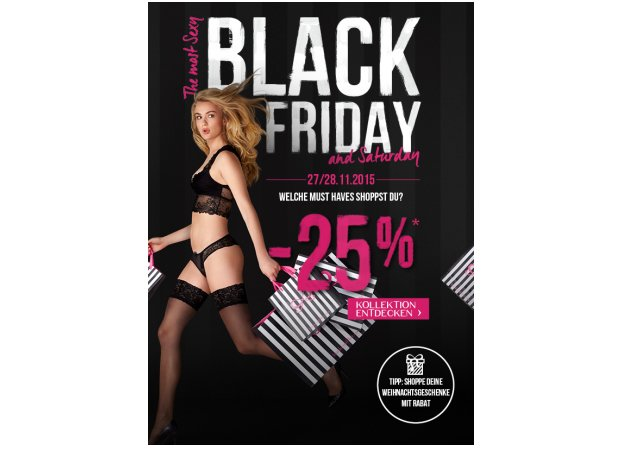 Black friday bei Hunkemöller