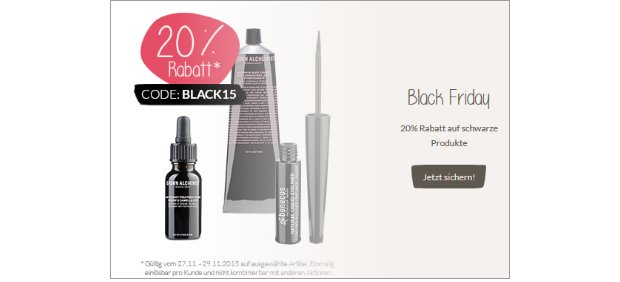 Black Friday bei Nature Me