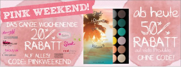 Black friday bei Shades of Pink