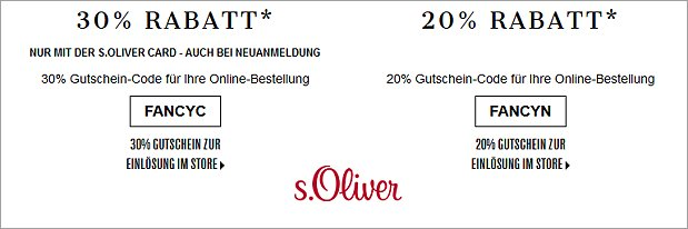 Black Friday bei s.Oliver