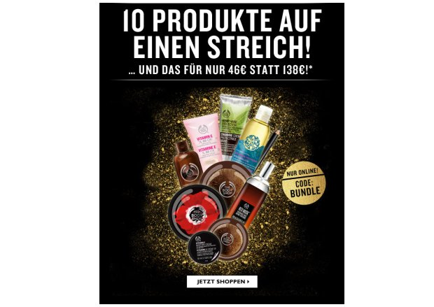 Bundle Angebot von The Body Shop