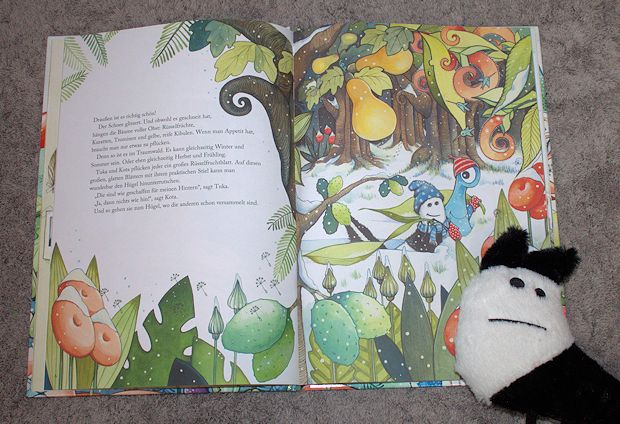 Ikea Safoskatt - die Stofftiere im Buch