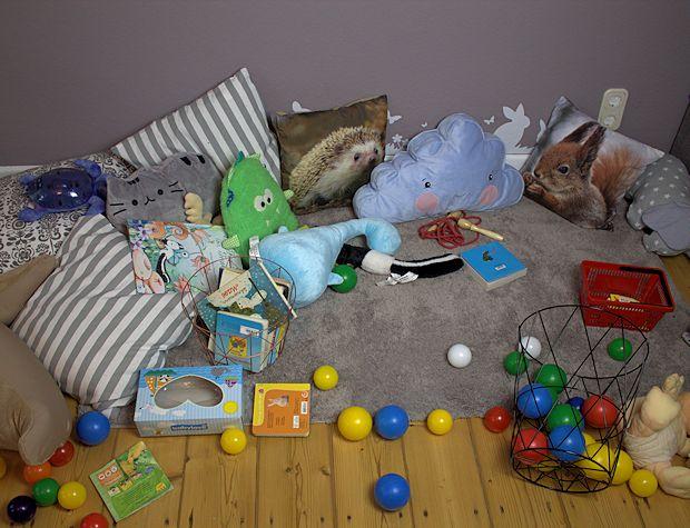 In unserem Kinderzimmer ist immer ordentlich.