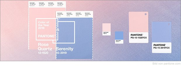 pantone farbe des jahres 2016 rose quartz and serenity. Black Bedroom Furniture Sets. Home Design Ideas