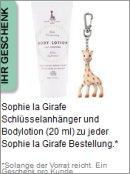 Gratis Geschenk von Sophie La Girafe