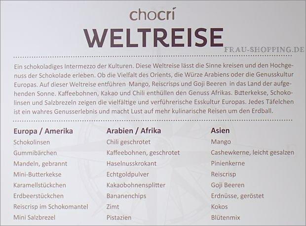 chocri Kleine Weltreise Box