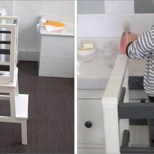 Ikea Hack: Unser selbst gebauter Learning Tower / Lernturm