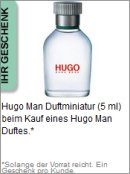 Gratis Geschenk von Hugo Boss
