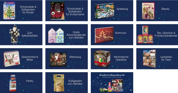 adAlle Amazon Adventskalender 2016ventskalender-2016-amazon