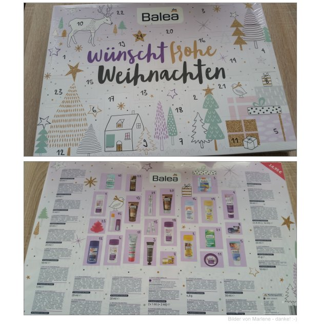 Balea Adventskalender 2016