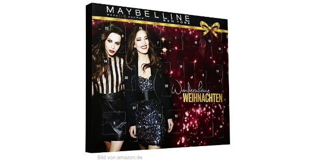 Maybelline Adventskalender 2016