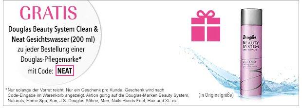 Gratis Geschenk zu jeder Bestellung auf douglas.de