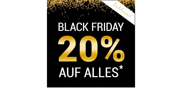 Friday Rabatt bei Butlers 2016
