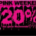 20% Rabatt beim Pink Weekendpink