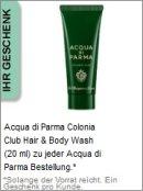 Gratis Geschenk von Acqua di Parma