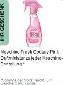 Gratis Geschenk von Moschino