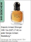 Gratis Geschenk von Armani