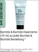 Gratis Geschenk von Bumble and bumble