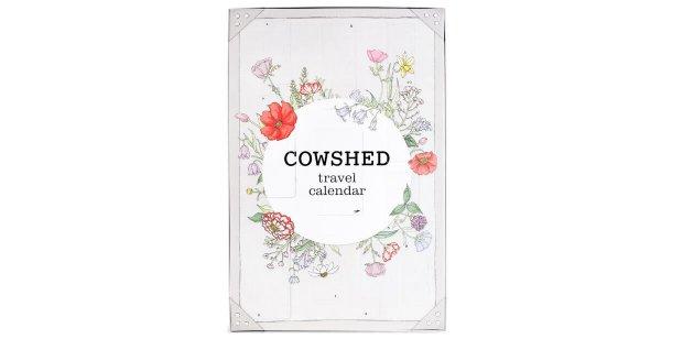 Cowshed Travel Countdown Adventskalender