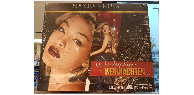Maybelline / ebelin Adventskalender 2017
