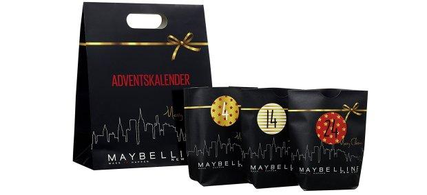 Maybelline Do it yourself Adventskalender 2017